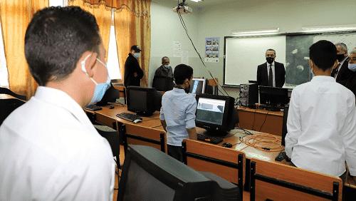 أبو قديس يطلع على واقع الاستعدادات للعام الدراسي