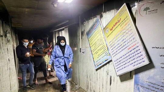 موقع خبرني : ارتفاع ضحايا المستشفى ببغداد لـ82 قتيلا