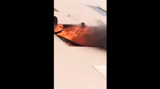 انقاذ 14 مواطنا من حريق في العقبة - فيديو