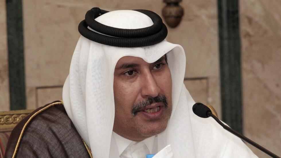 حمد بن جاسم يدعو عباس إلى نقل السلطة