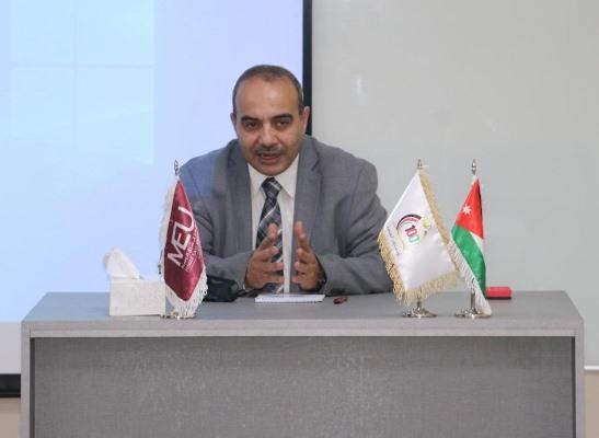الشرق الأوسط تقيم ندوة بعنوان (دور وزارة العمل في مواجهة كورونا)
