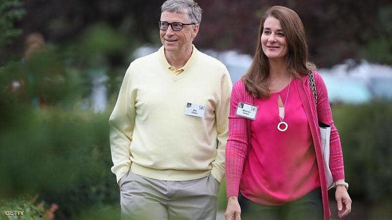 انفصال بيل غيتس وزوجته بعد 27 عاما على زواجهما