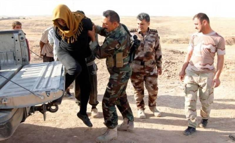 اعتقال (ساعي بريد) داعش