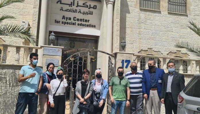 جامعة الشرق الأوسط MEU تنظم زيارة إلى مركز آية للتربية الخاصة