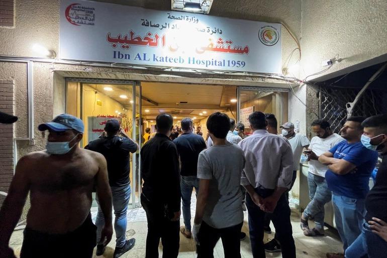 استقالة وزير الصحة العراقي بسبب حريق مستشفى الخطيب