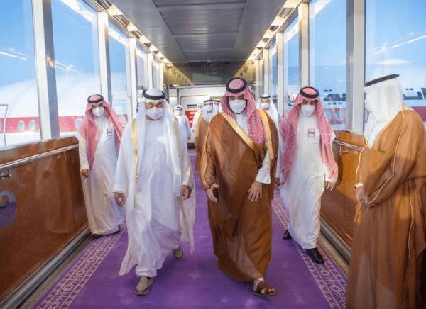 السعودية: اللون البنفسجي لسجاد المراسم
