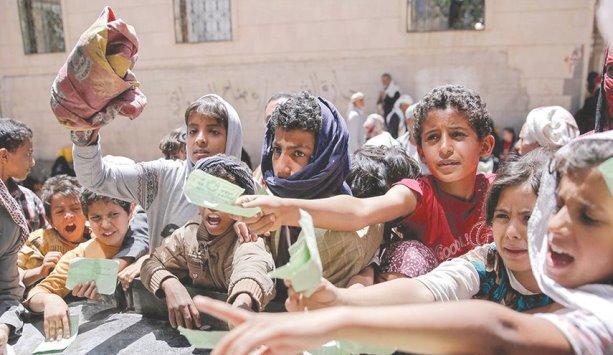 20 مليون يمني يحتاجون لمساعدة إنسانية