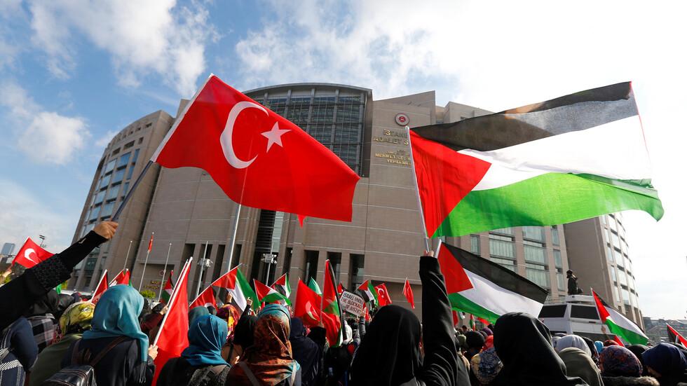 تركيا تتهم إسرائيل بالإرهاب ضد الفلسطينيين