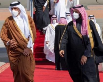 أمير قطر يصل جدة اليوم