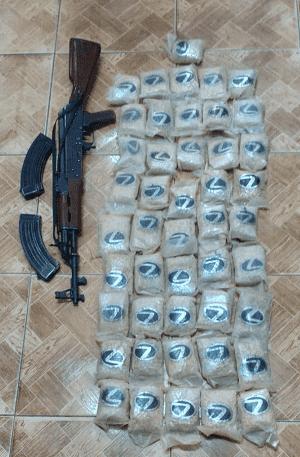 ضبط 100 الف حبة مخدرة بالبادية الشمالية