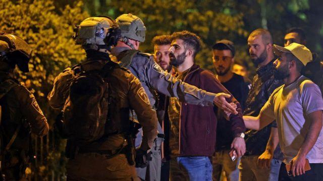 334 مصابا خلال المواجهات في القدس