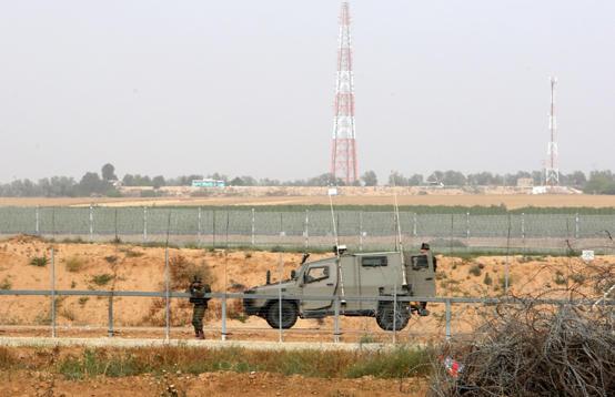 اصابة جنود اسرائيليين باستهداف جيب بصاروخ موجه