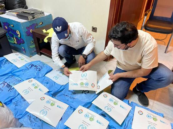 مبادرة جدارا تطلق حملات كسوة العيد بالتعاون مع (وسط البلد)