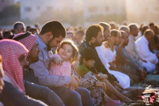 طقس مستقر أول أيام العيد