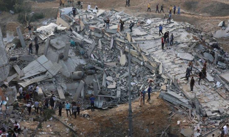 ارتفاع شهداء غزة إلى87
