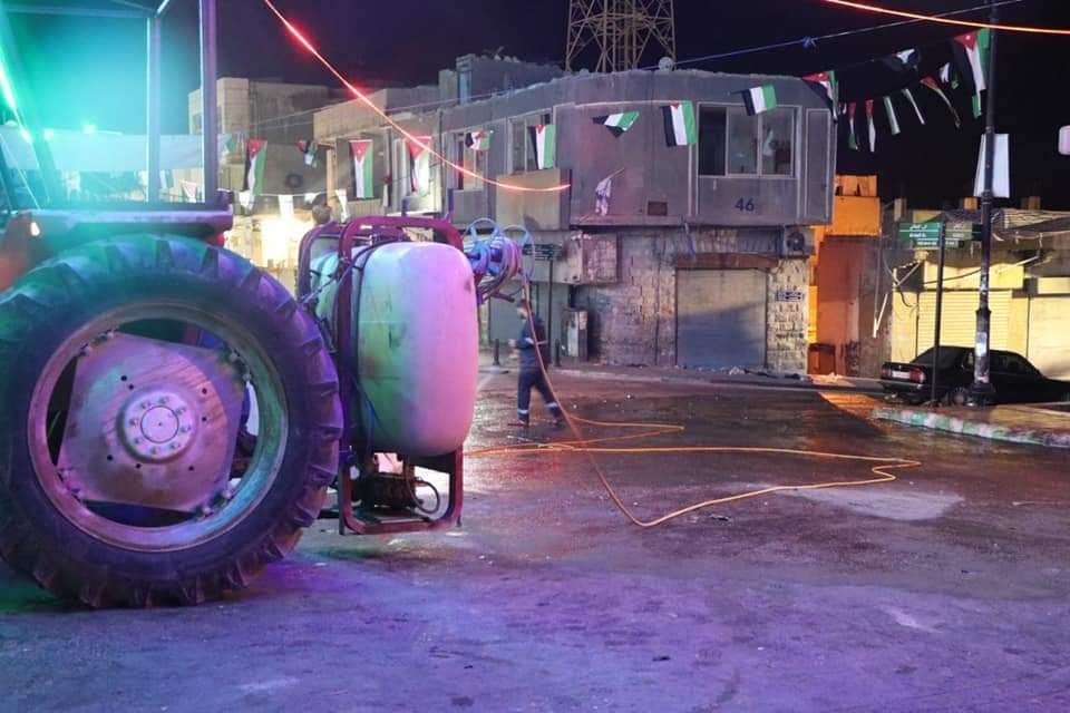 بلدية الكرك تجمل المدينة لاستقبال زائريها بالعيد