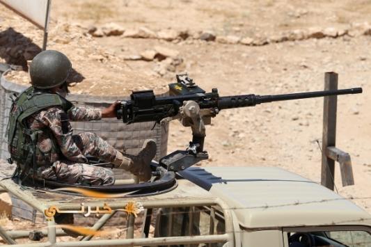 الجيش يقبض على متسلل من سوريا