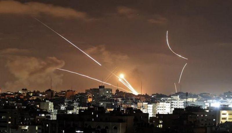 رشقة صاروخية من غزة.. وسكان أشكول بالملاجئ