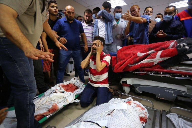 ارتفاع شهداء غزة إلى 174 - تحديث