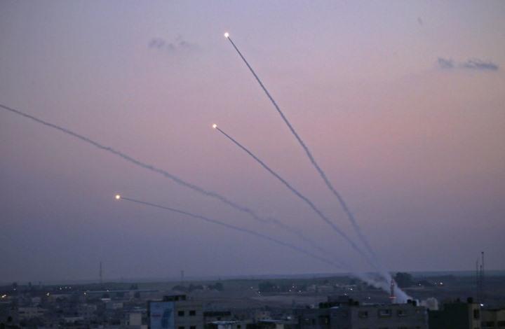الاحتلال: نواجه أعلى وتيرة لإطلاق صواريخ من غزة