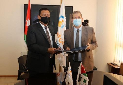 مذكرة تعاون بين عمان العربية ومجلس خدمات مخيم البقعة