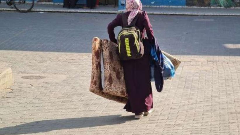 38 الف نازح للمدارس منذ بدء العدوان على غزة