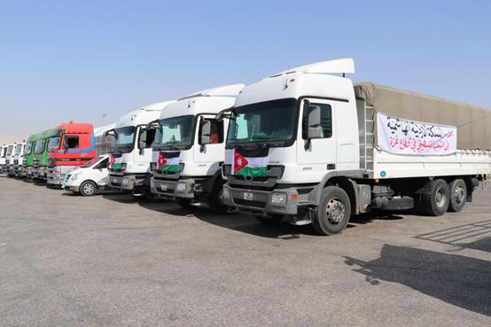 الملك يوجه بتعزيز المستشفى الميداني الأردني بغزة