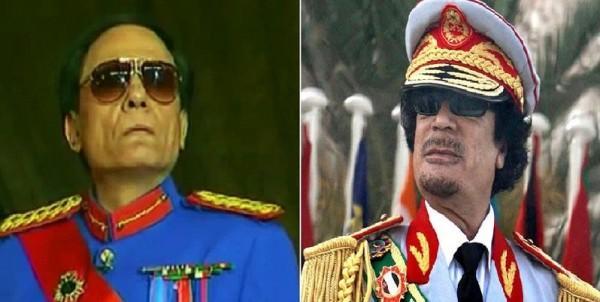 تفاصيل محاولة اغتيال القذافي لعادل إمام