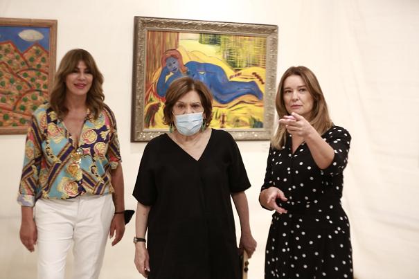 هلسا تقيم معرضا بالأردن لفناني غزة