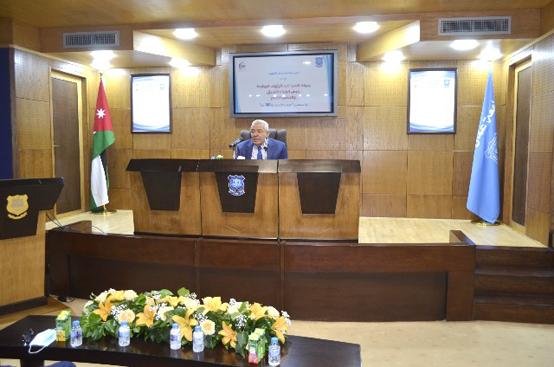 محاضرة لعبد الرؤوف الروابدة في عمان الأهلية