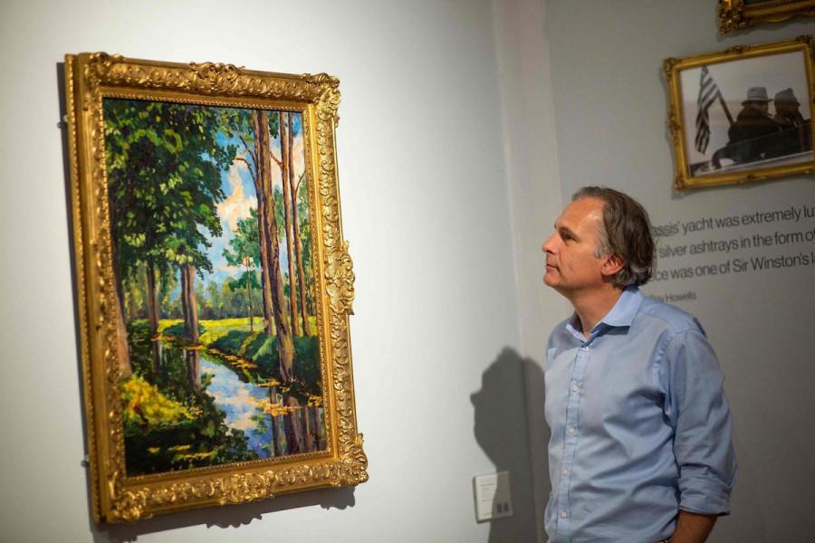 بيع لوحة تشرشل بـ 1.8 مليون دولار