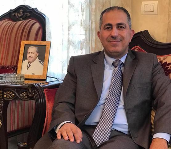 تهنئة للدكتور القاضي عمار الحمود