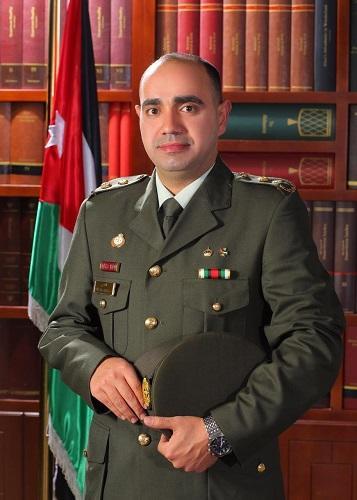 تهنئة للقاضي العسكري حمزة إبراهيم العضايلة