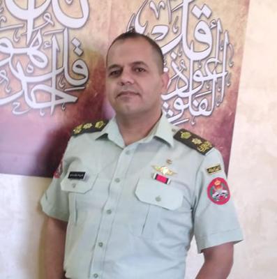 تهنئة للمقدم علي محمود أبو سليم