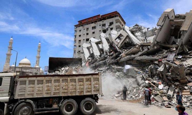 إسرائيل تحتج على تزويد مصر لقطاع غزة بمواد البناء