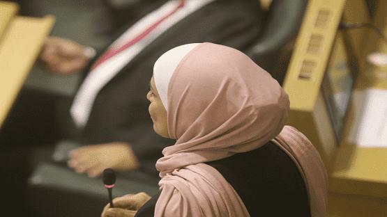 ابو علبة تدعو لإبقاء الحصة النسائية بالبرلمان