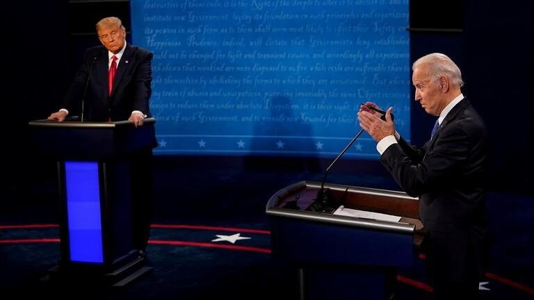 ترامب لبايدن: انقل لبوتين تحياتي الحارة
