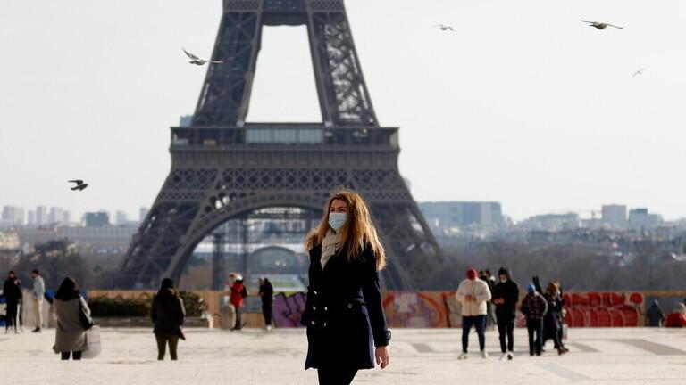 تراجع ملموس بإصابات كورونا في فرنسا