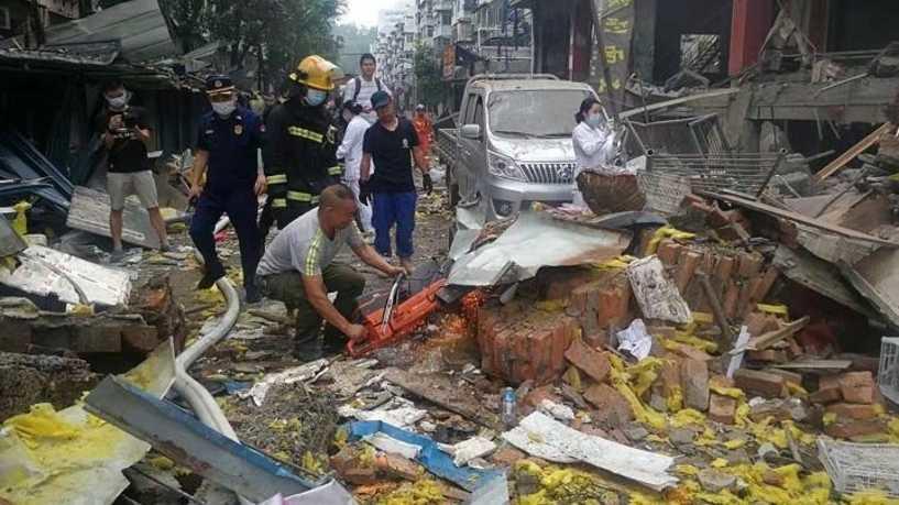 انفجار غاز في الصين يخلف 11 قتيلا وعشرات الجرحى