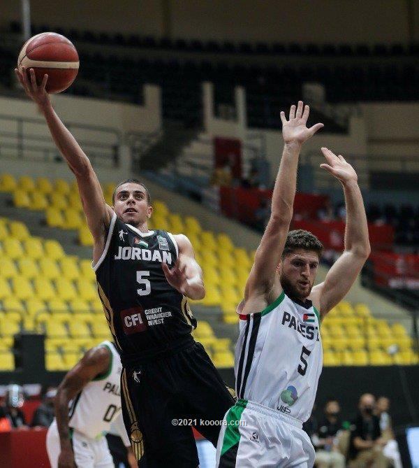 منتخب السلة يجتاز فلسطين بالتصفيات الآسيوية