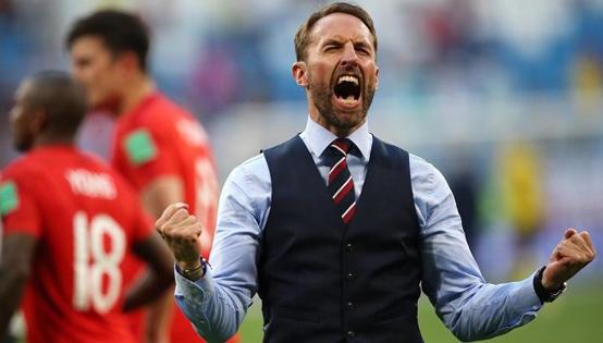 ساوثجيت يحقق إنجازا غريبا مع إنجلترا