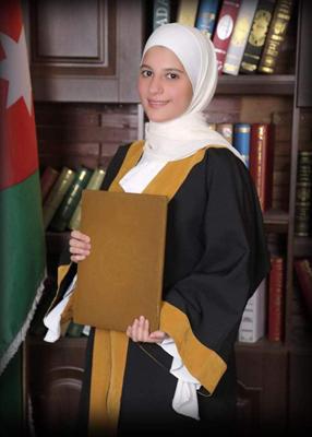 الدكتوره سوسن وائل القاروط .. مبروك التخرج