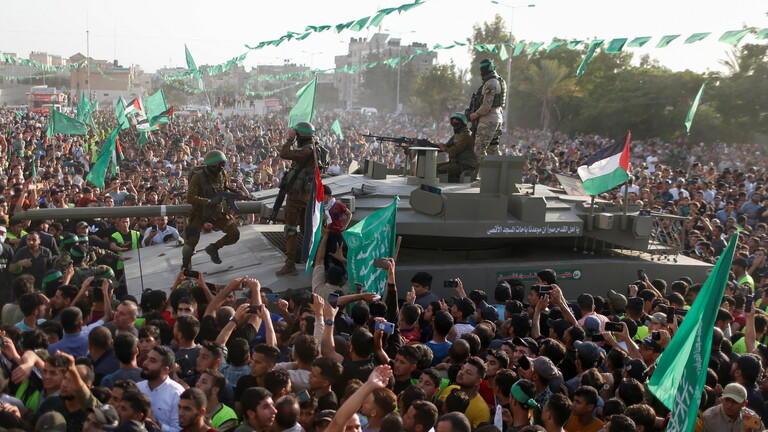 حماس: مسيرة الأعلام صاعق انفجار