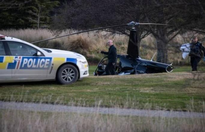 جلسة تصوير تنتهي بكارثة وتحطم طائرة عروسين