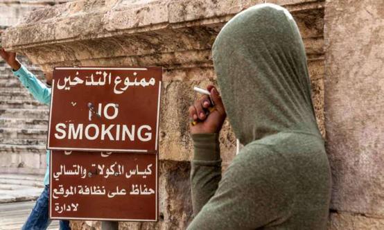 هواري: أولوية قصوى لإنفاذ قانون حظر التدخين في الأماكن العامة