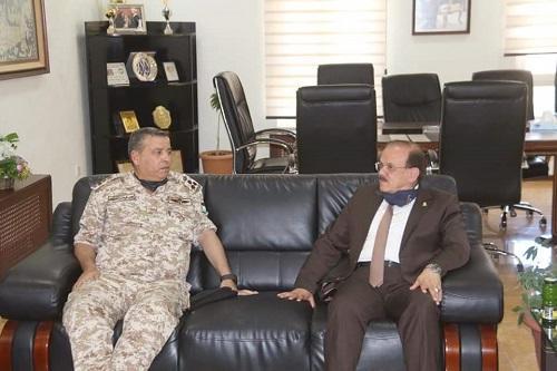 بحث التعاون بين مؤتة والثقافة العسكرية