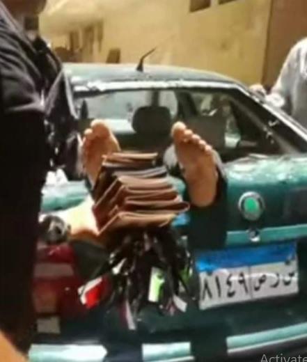 مصري متهم باغتصاب ابنته يقفز من الطابق الرابع
