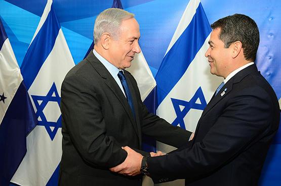 رئيس هندوراس يدشن سفارة بلاده في القدس الخميس
