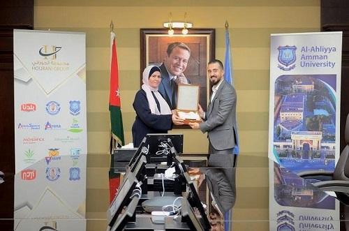 مذكرة تفاهم بين عمان الأهلية وروضة ومدارس أكاديمية السلط