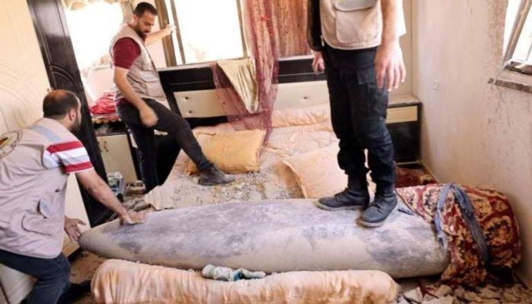 700 صاروخ إسرائيلي غير متفجر تهدد سكان غزة